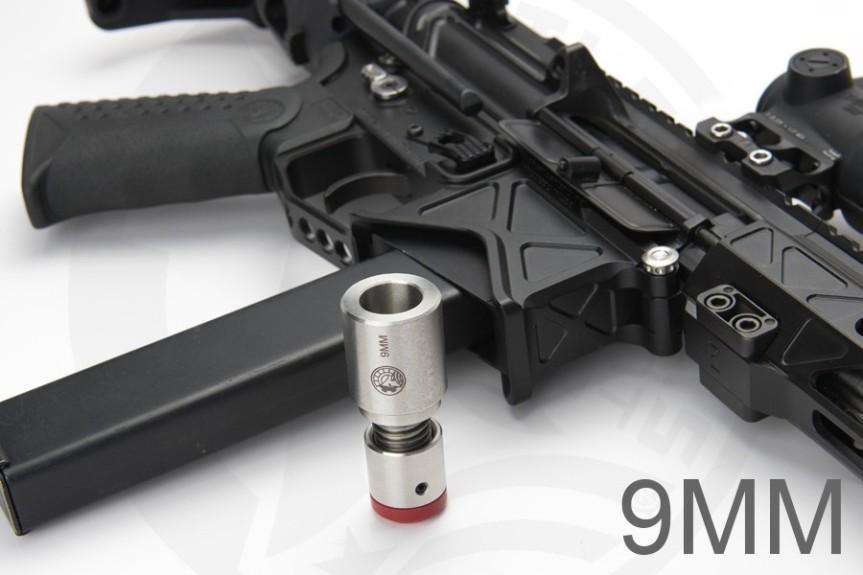 battle arms development 9m buffer vert pdw pcc pistol caliber carbine ar15 ar9 black rifle BAD-CSS BAD-PDW Monolithic blowback 9mm 3