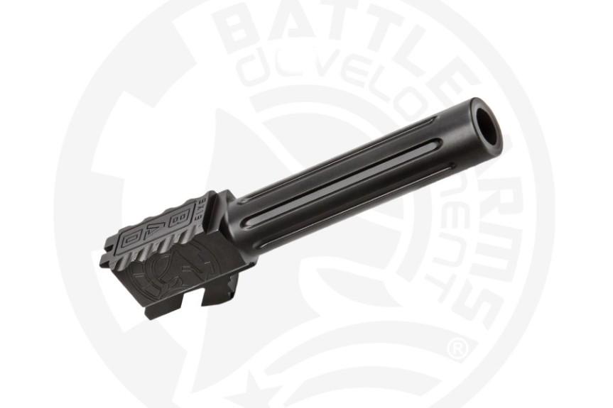 battle arms development one 1 glock barrel. custom glock barrel threaded glock barrel BAD-BBLG19SSFT 8