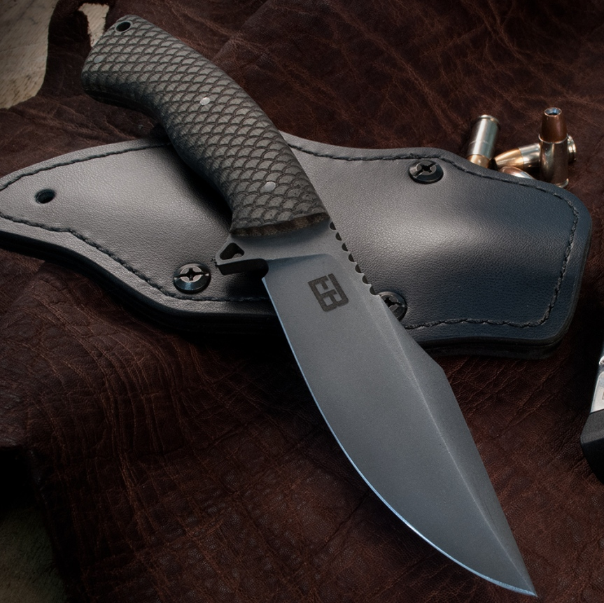 ed brown products K1 fixed blade knife KN-JK-FIXED winkler knives jason knight custom knife tactical knife survival blade 1