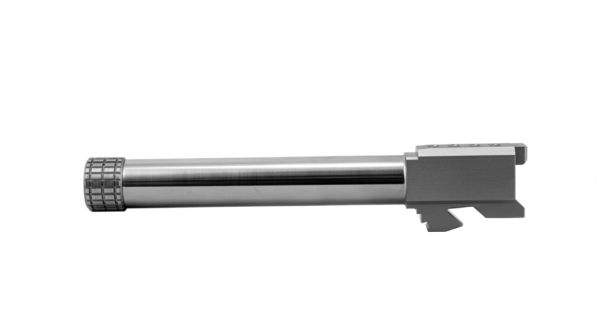 grey ghost precision glock barrels match grade glock barrel glock 40 custom glocks BARREL-G17 NT BN 6