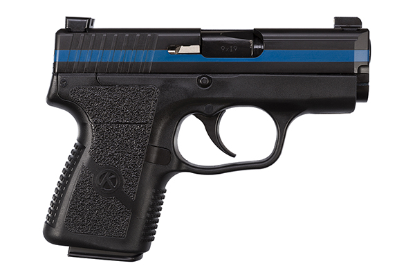 kahr arms thin blue line pm9 special edition pistol 9mm conealed carry gun ccw cwl 2