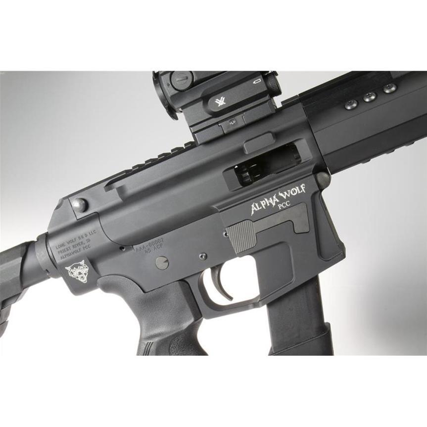 lone wolf distributors alphawolf pistol caliber carbine pcc 45 ar15 ar45 pistol ar15 45 acp AW-PCC 5