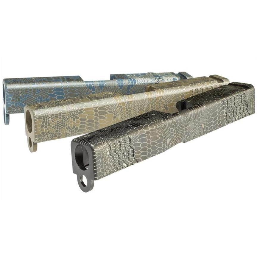 lone wolf distributors lwd camouflage kryptek LWD-ENG-KRYPTEK laser engraved glock slides laser kryptek glock 1