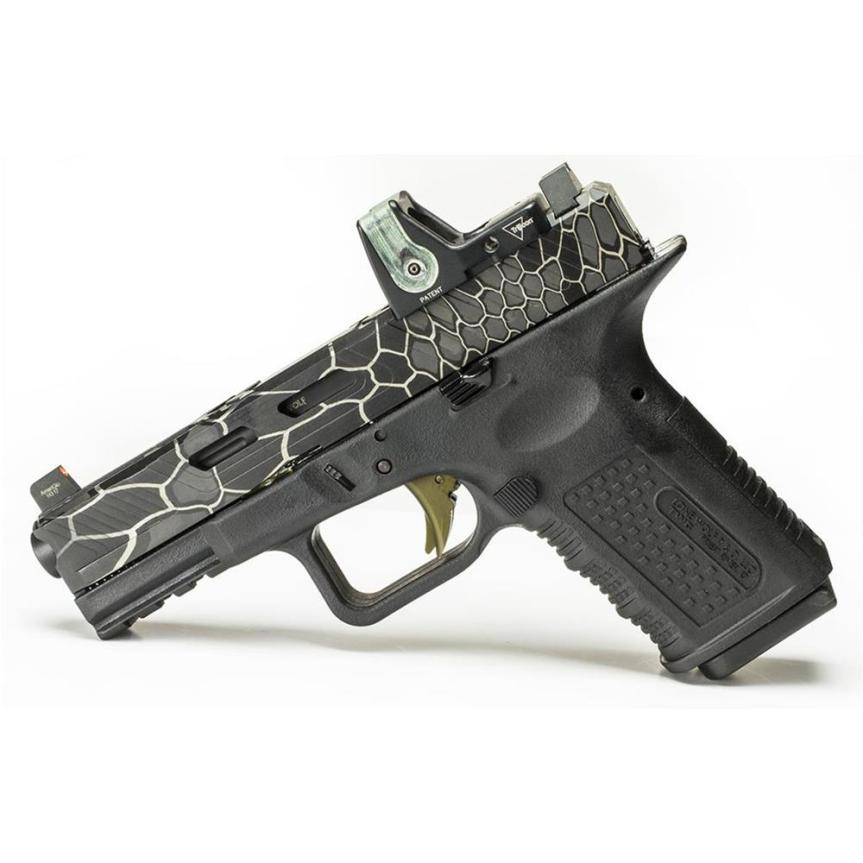 lone wolf distributors lwd camouflage kryptek LWD-ENG-KRYPTEK laser engraved glock slides laser kryptek glock 6