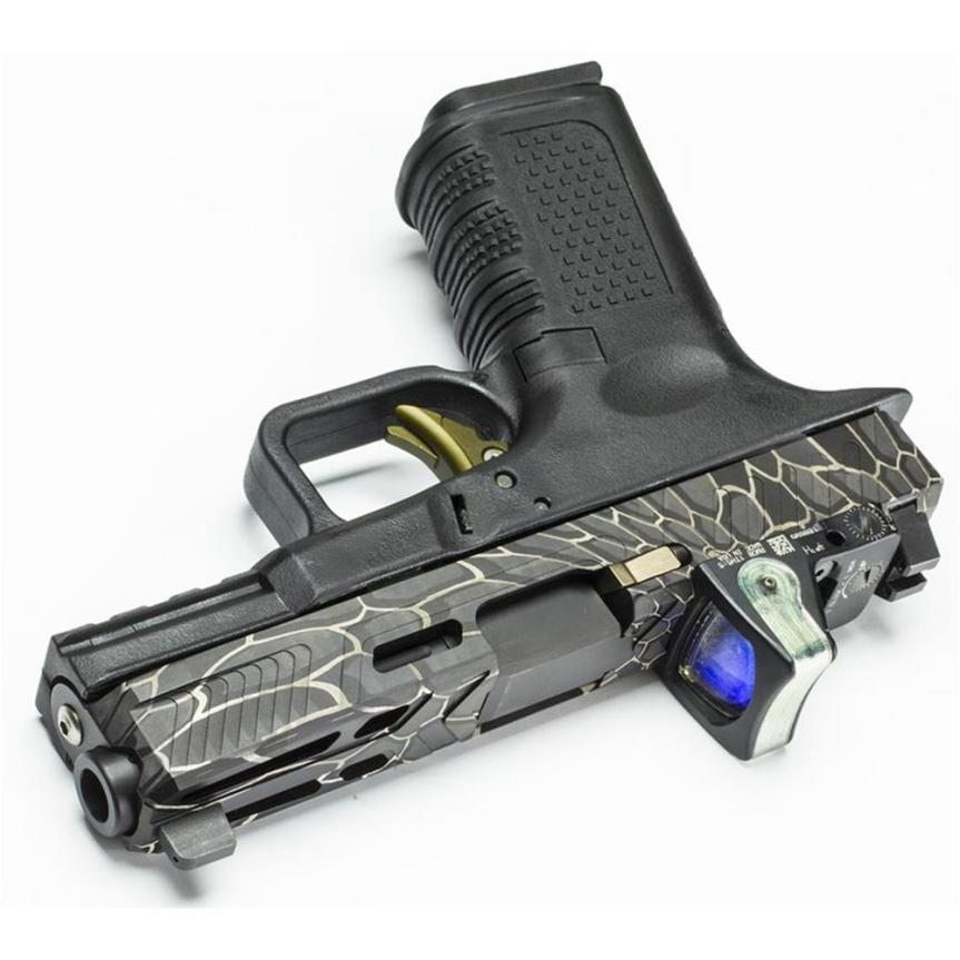lone wolf distributors lwd camouflage kryptek LWD-ENG-KRYPTEK laser engraved glock slides laser kryptek glock 7
