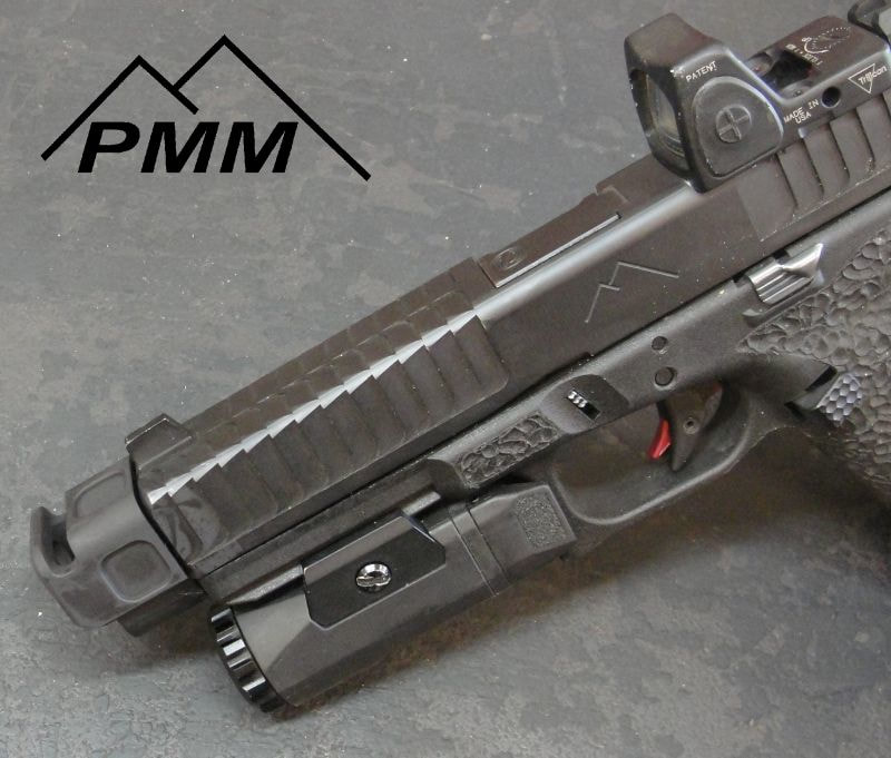 PARKER MOUNTAIN MACHINE COMPS compensator CZ P10C, H&K VP9, and Glock 9mm pmm jttc 10