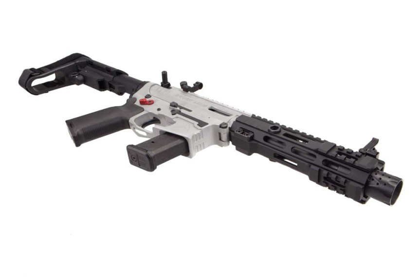 rainier arms pistol caliber carbine 9mm reciever set billet reciever for 9mm glock lower ar15 1