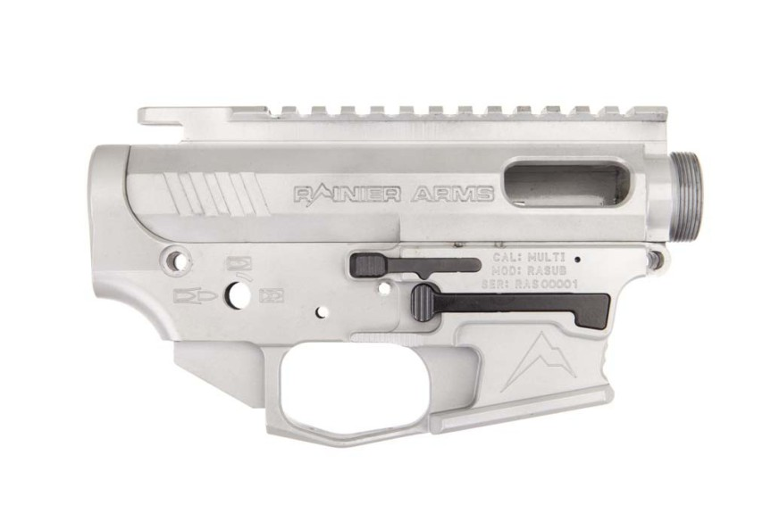 rainier arms pistol caliber carbine 9mm reciever set billet reciever for 9mm glock lower ar15 3