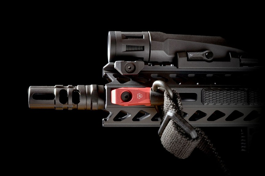 strike industries SI-LINK-AQD link angled qd mount mlok qd keymod qd tactical black rifle ar15 6