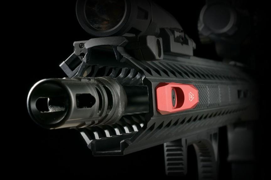 strike industries SI-LINK-AQD link angled qd mount mlok qd keymod qd tactical black rifle ar15 8
