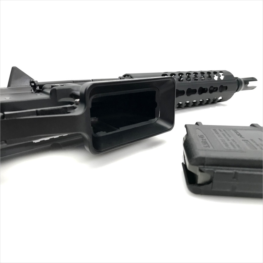 sylvan arms flared magwell ar15 flaired magwell ar-15 flaired magazine ar15 billet trigger guard black rifle ar-15 3.jpg
