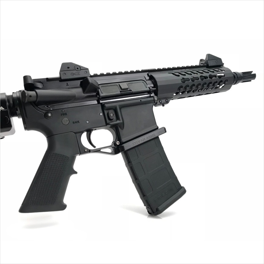 sylvan arms flared magwell ar15 flaired magwell ar-15 flaired magazine ar15 billet trigger guard black rifle ar-15 4.jpg