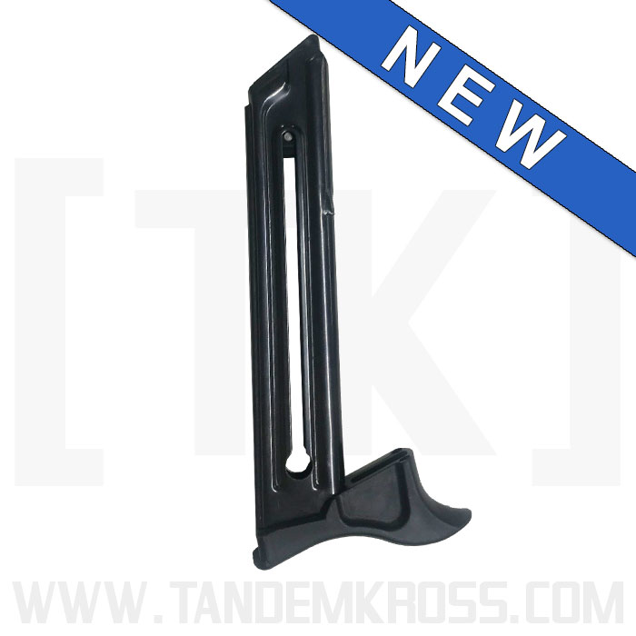 TANDEMKROSS DEBUTS THE TOMAHAWK MAGAZINE BUMPER FOR THE RUGER 22 45 PISTOL racegun 22 TK26N0294BLK1 1