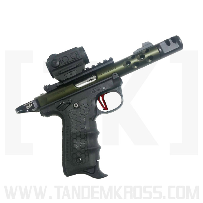 TANDEMKROSS DEBUTS THE TOMAHAWK MAGAZINE BUMPER FOR THE RUGER 22 45 PISTOL racegun 22 TK26N0294BLK1 4