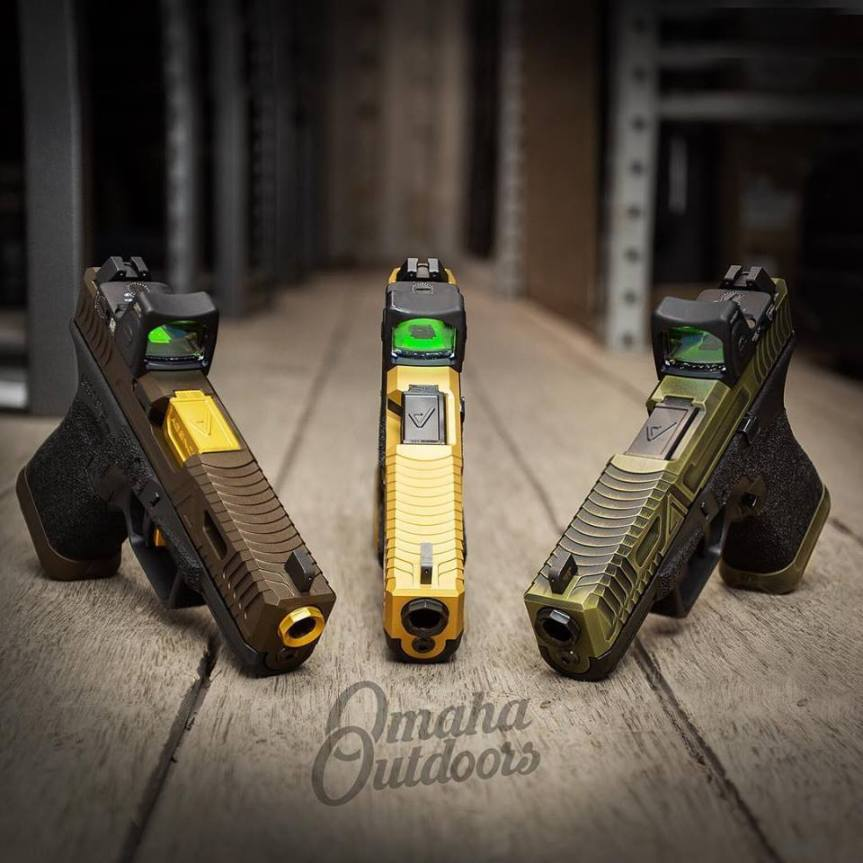 agency arms cipher slides glock 19 cipher cypher glock omaha outdoors custom glock cipher gen 3 glock attackcopter G19-G3-CIPHER-GOLD-RM06 G19-G3-CIPHER 9