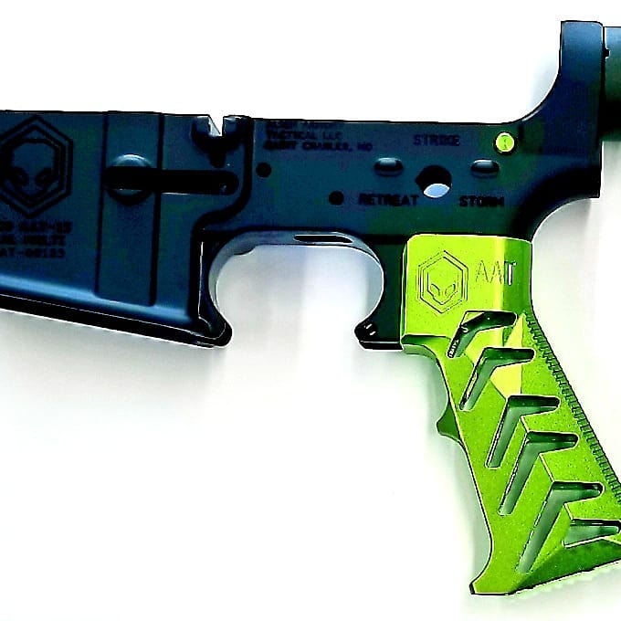 alien armory tactical aat gravity 3.2 ar15 grip skeleton ar15 grip aluminum grip metal grip attackcopter attack helicopter   1.jpg