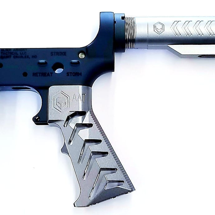 alien armory tactical aat gravity 3.2 ar15 grip skeleton ar15 grip aluminum grip metal grip attackcopter attack helicopter 2