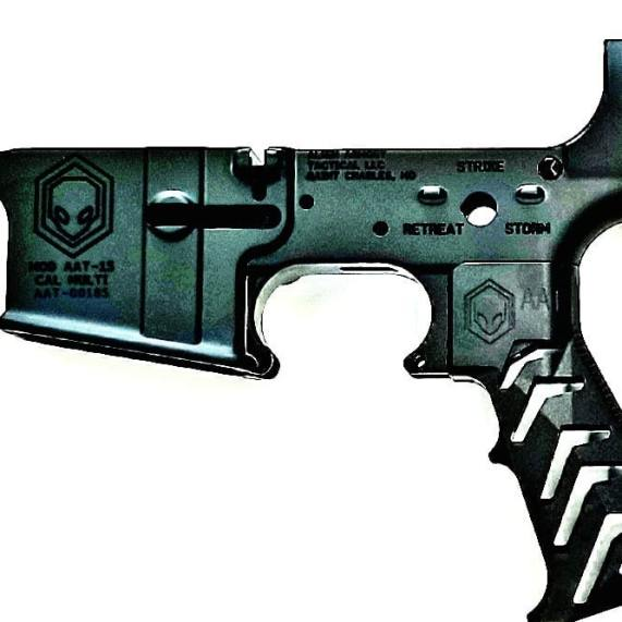 alien armory tactical aat gravity 3.2 ar15 grip skeleton ar15 grip aluminum grip metal grip attackcopter attack helicopter 10