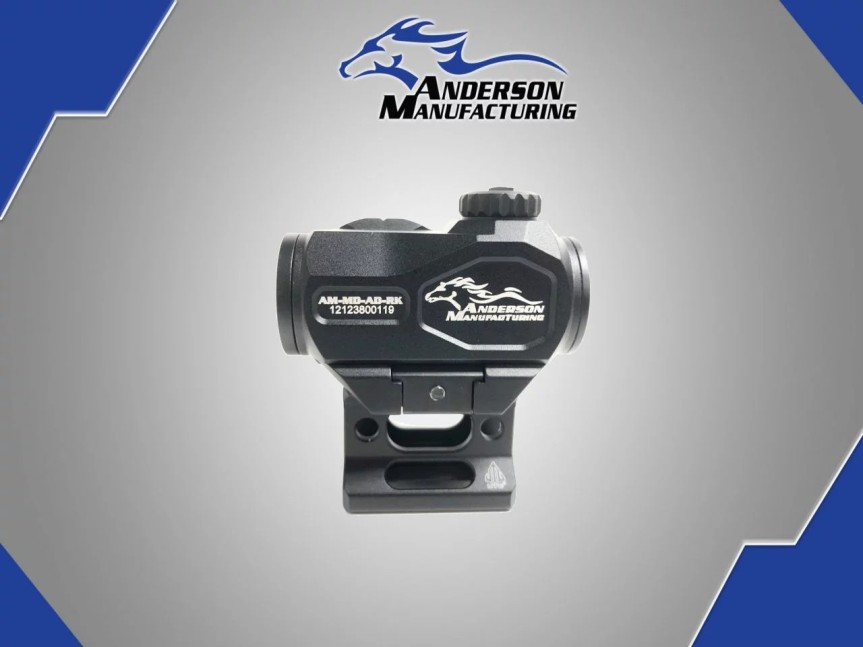 anderson manufacturing advanced micro red dot optic ar15 red dot affordable optics poverty pony red dot moa spec ar15 black rifle attackcopter 711841564087 B2-J120-0000 3