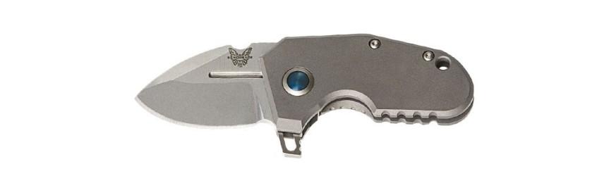 benchmade knices 756 micro shane sibert mpr titanium knife pocket folder knife titanium custom knife edc ever day carry 2