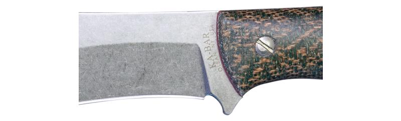 ka-bar knives JAROSZ DELUXE HUNTER FIXED BLADE KNIFE 7510 S35VN blade steel bushcraft hunter 3