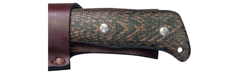 ka-bar knives JAROSZ DELUXE HUNTER FIXED BLADE KNIFE 7510 S35VN blade steel bushcraft hunter 5