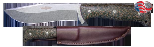 ka-bar knives JAROSZ DELUXE HUNTER FIXED BLADE KNIFE 7510 S35VN blade steel bushcraft hunter 8