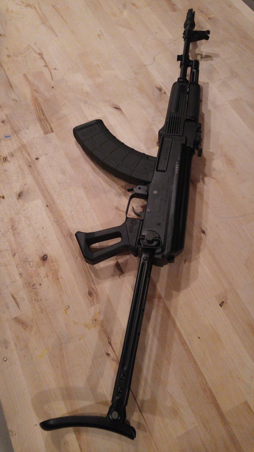 kgb llc ak47 aluminum grip ak74 aluminum grip akm metal grip tactical ak-47 ak-74 gun blog firearmblog attackcopter black rifle russian 2