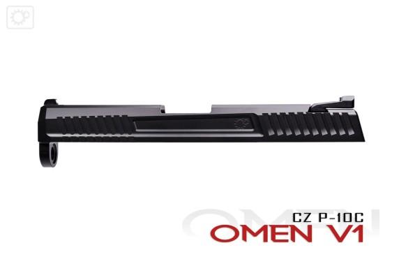 primary machine cz p-10c custom slide p10c custom slide rmr p10c gun blog firearmblog attackcopter 9mm tactical 8