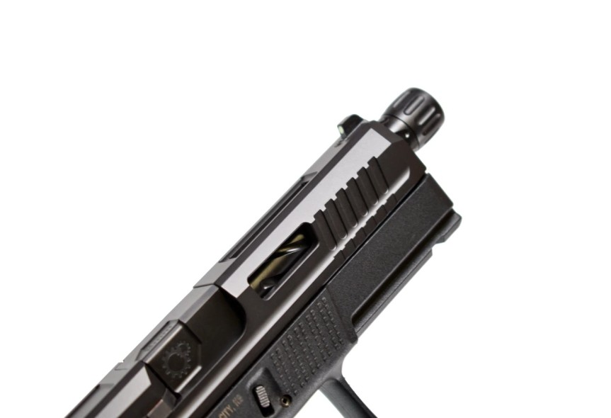 PRIMARY MACHINE DEBUTS NEW!! CZ P-10C CUSTOM SLIDES