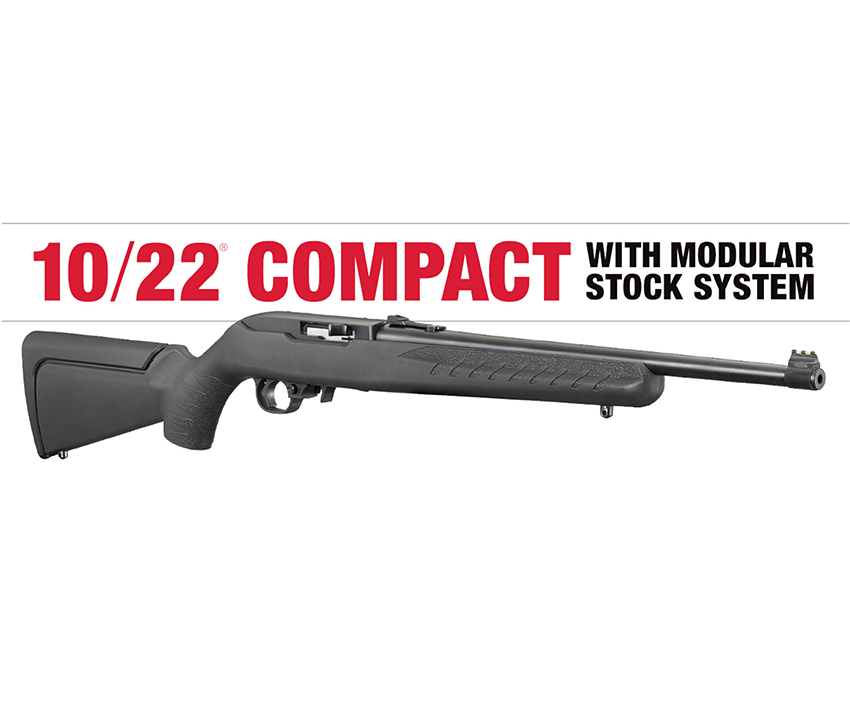 RUGER ADDS TO ITS 10/22 SERIES OF RIFLES WITH THE 10/22 COMPACT!!!