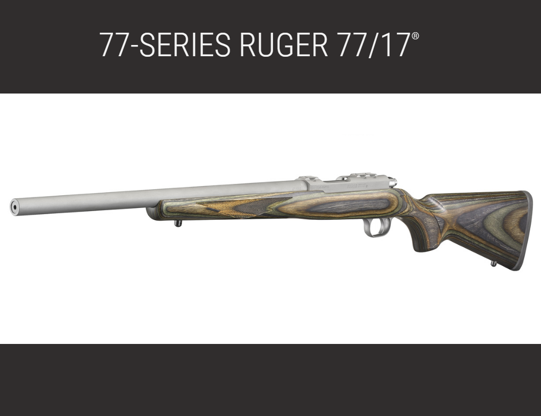 RUGER DEBUTS 77-SERIES RIFLE NOW IN 17WSM