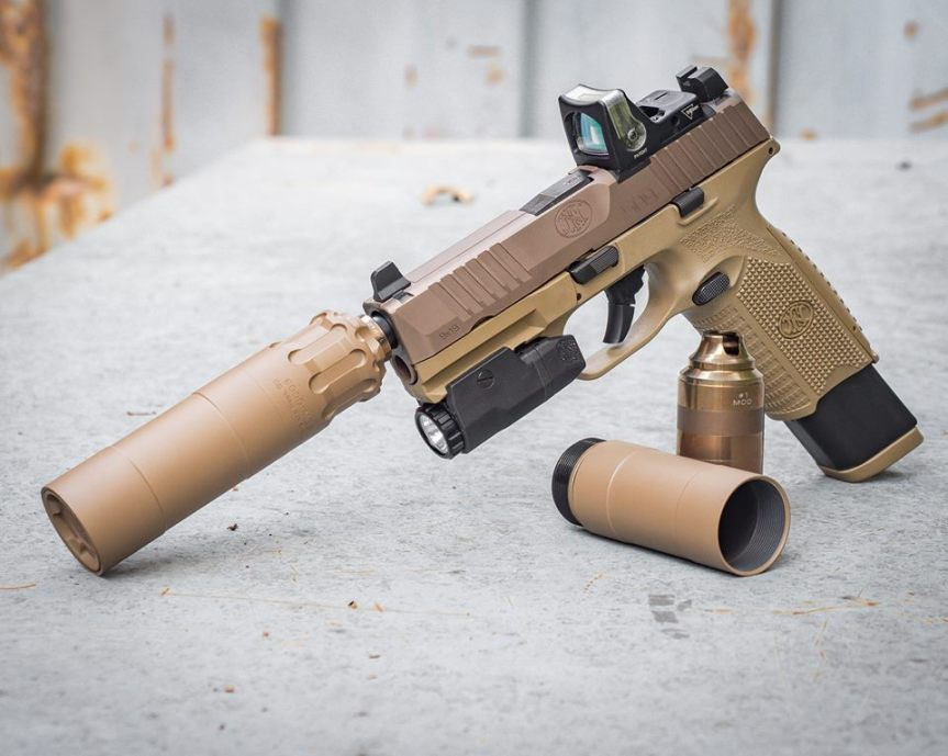 RUGGED SUPRESSORS INTRODUCES THE OBSIDIAN 9 IN FDE!!! a