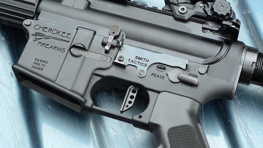 smith tactics lbr lighting bolt release automatic bolt ar15 ar-15 black rifle assault rifle attackcopter 1