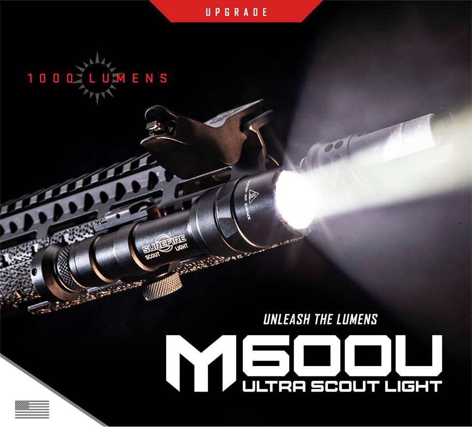 SUREFIRE ROLLS OUT NEW 1000 LUMEN M600U ULTRA SCOUT LIGHT!!!