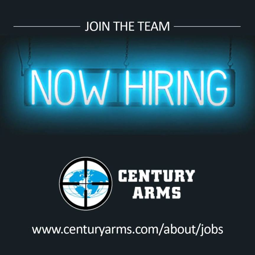 century  arms now hiring firearms job gun employment.jpg