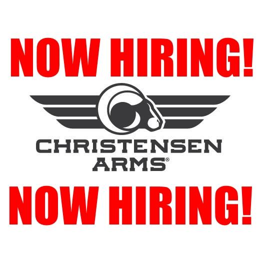 christensen arms now hiring firearms job gun employment.jpg