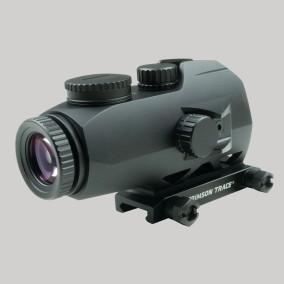 crimson trace cts-1100 electronic sight illuminated battle sight 3.5x optics; tactical; 40sw; attackcopter.com;firearmblog;gunblog; battle rifle ar14 ak47 3