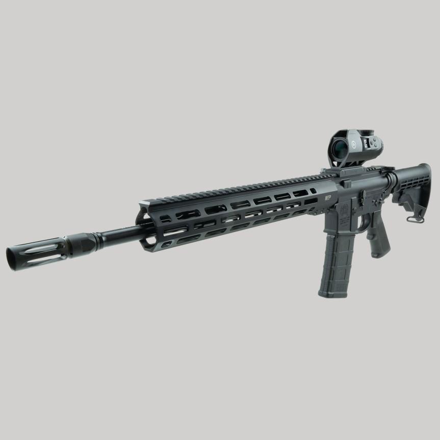 crimson trace cts-1100 electronic sight illuminated battel sight 3.5x optics; tactical; 40sw; attackcopter.com;firearmblog;gunblog; battle rifle ar14 ak47 5