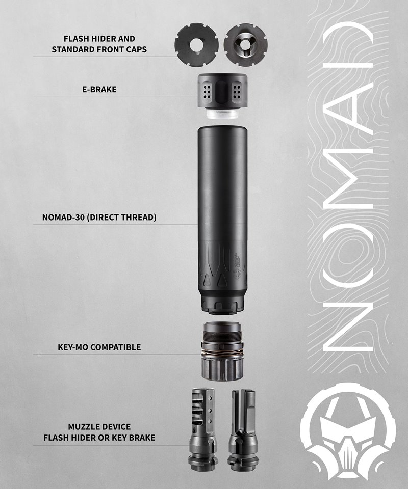 DEAD AIR SILENCERS INTRODUCES THE NOMAD-30 SUPPRESSOR