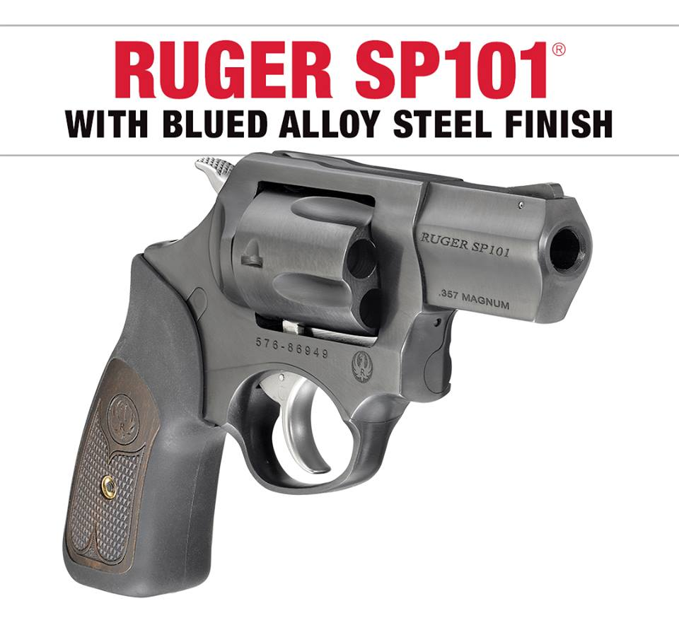RUGER LAUNCHES FIRST BLUED ALLOY SP101 MODEL!