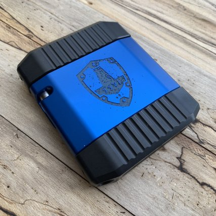 ssvi mgw scudo 2.0 limited edtion aluminum wallet metal wallet tactical wallet gunblog 40sw firearmblog attackcopter black rifle 6