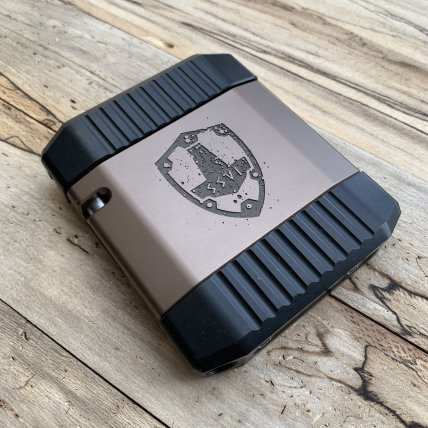 ssvi mgw scudo 2.0 limited edtion aluminum wallet metal wallet tactical wallet gunblog 40sw firearmblog attackcopter black rifle 6