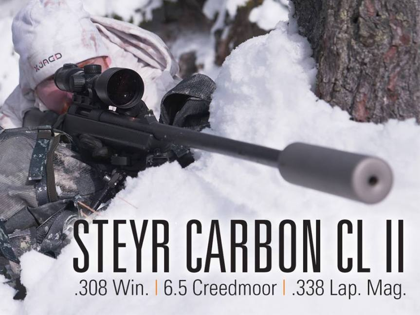 Steyr arms carbon cl ii rifle ultra light sniper rifle light hunting rifle tactical attackcopter gunblog firearmblog 6.5 creedmoor 308 win 338 lap mag  3.jpg