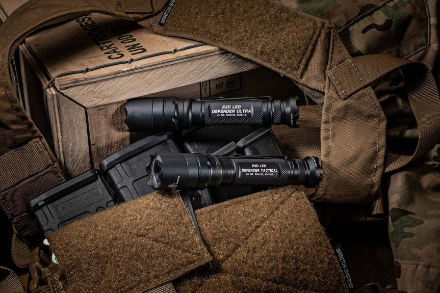 surefire E2D DEFENDER E2DLU-A 084871321242 E2DLU T 084871327916 1000 Lumens Tactical LED Flashlight attackcopter gunblog firearmblog attackcopter  7.jpg