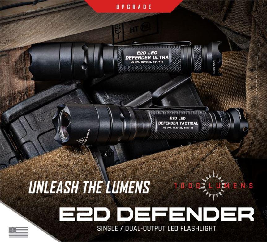 surefire E2D DEFENDER E2DLU-A 084871321242 E2DLU T 084871327916 1000 Lumens Tactical LED Flashlight attackcopter gunblog firearmblog attackcopter  9.jpg
