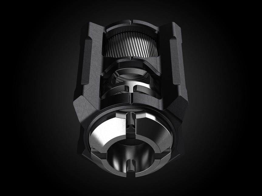 tyrant design cnc glock compensator 9mm v13 comp muzzle brake attackcopter gunblog firearmblog high capacity 40sw 1.jpg