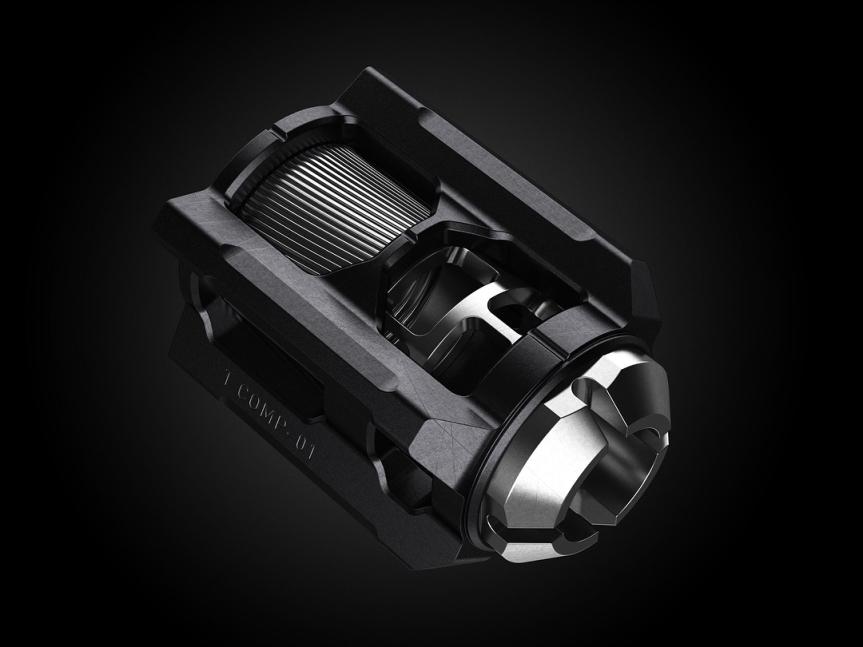 tyrant design cnc glock compensator 9mm v13 comp muzzle brake attackcopter gunblog firearmblog high capacity 40sw 2.jpg