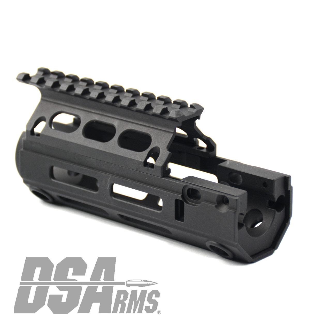 DS ARMS DEBUTS NEW SA58 METRIC PISTOL LENGTH GAS SYSTEM M-LOK INTERFACE HANDGUARDS!!!