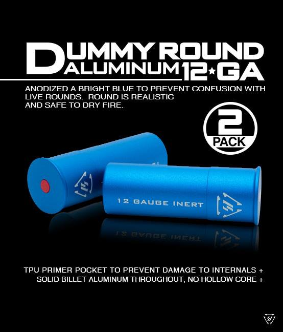 STRIKE INDUSTRIES DEBUTS NEW 12 GUAGE ALUMINUM DUMMY ROUNDS a